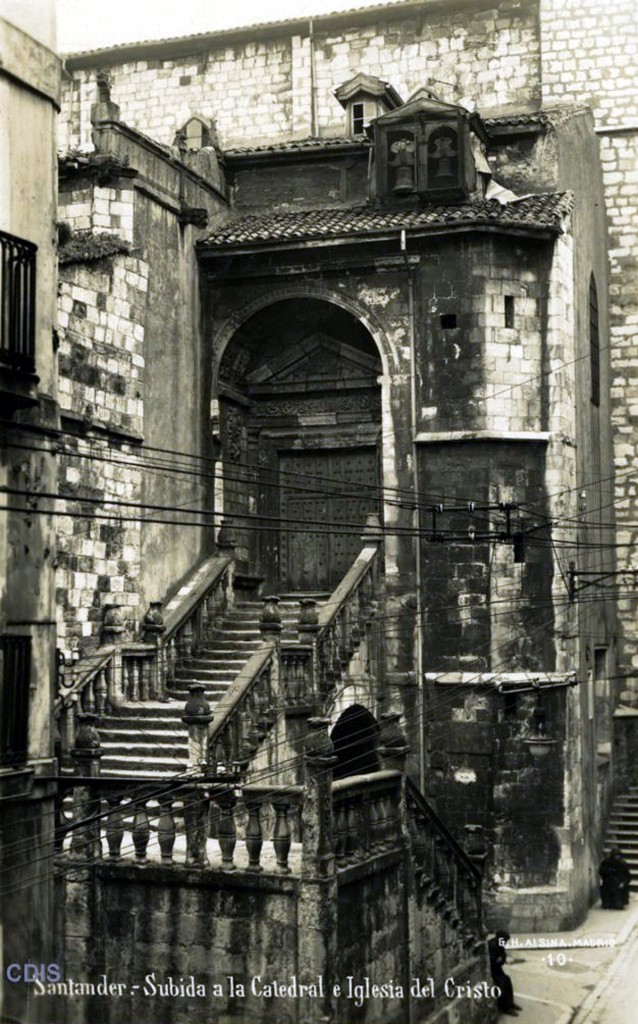 Subida a la Catedral e Iglesia del Cristo. G.H. Alsina, Colección Víctor del Campo Cruz, CDIS.