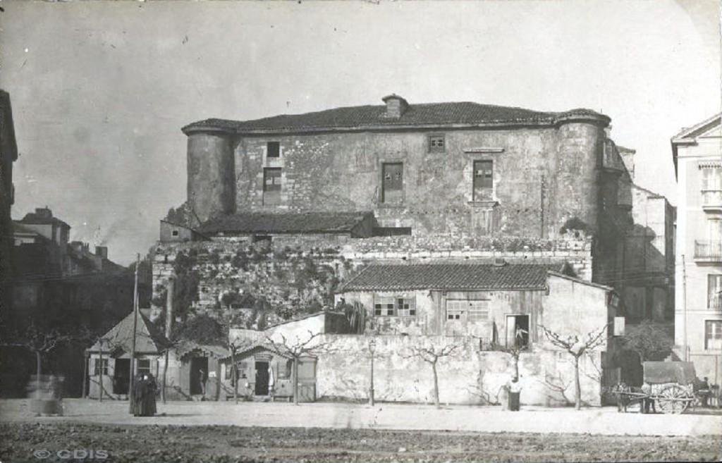 Castillo de San Felipe. Ca. 1890. Pablo Isidro Duomarco ¿? CDIS.
