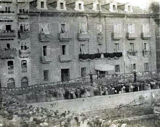 Real Aduana, 1861
