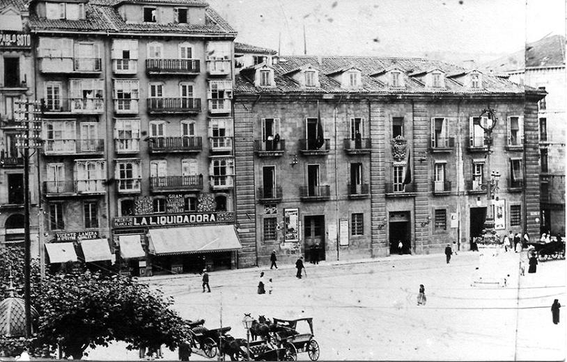 Aduana de Santander, 1895
