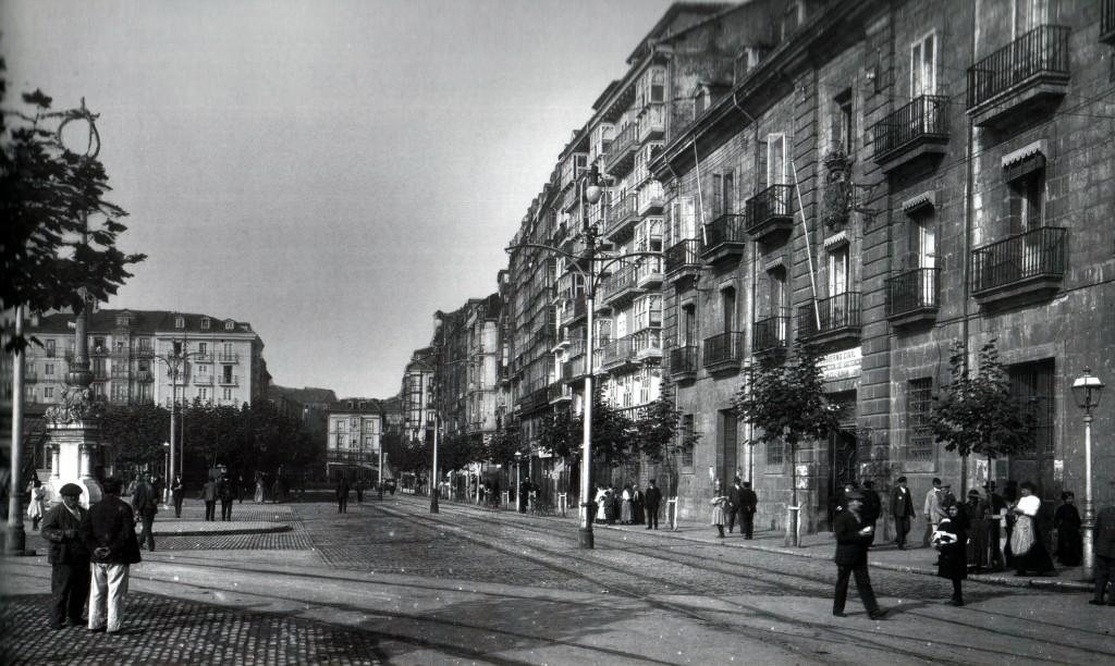Aduana de Santander y Calle de la Ribera, 1925