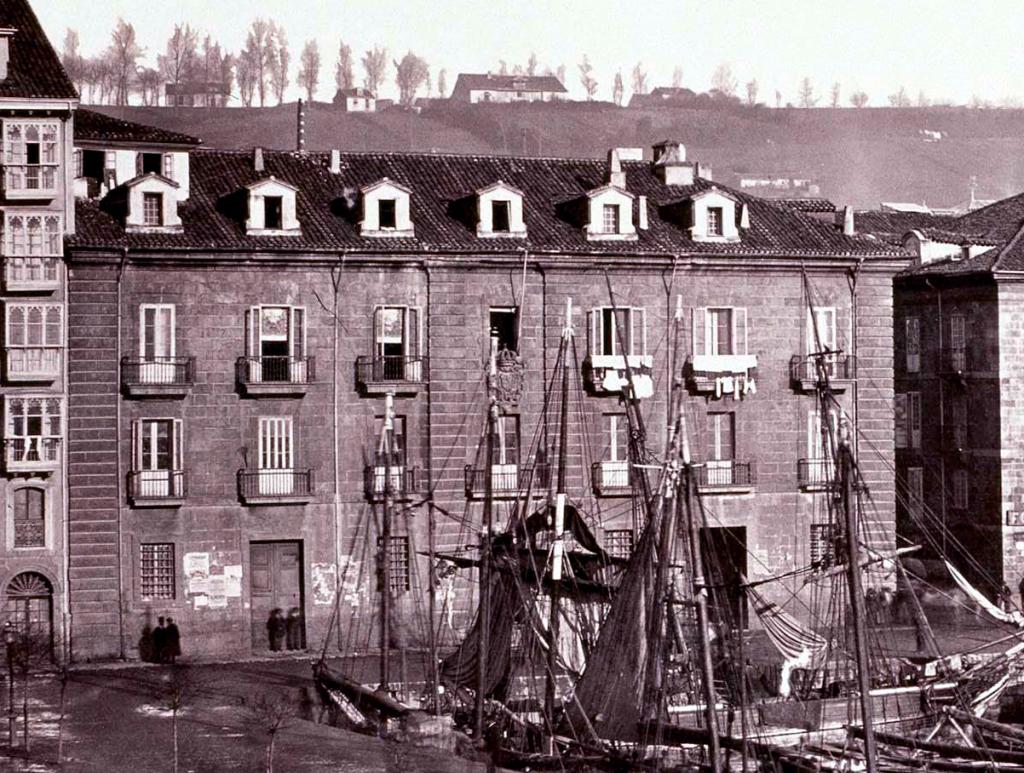 Aduana de Santander, ca. 1900