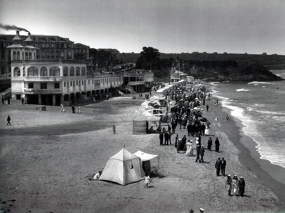 Primera Playa del Sardinero, ca. 1915