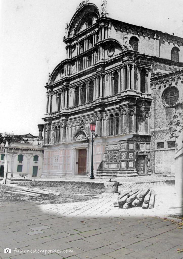 Iglesia de San Zacarías ca. 1860-2014