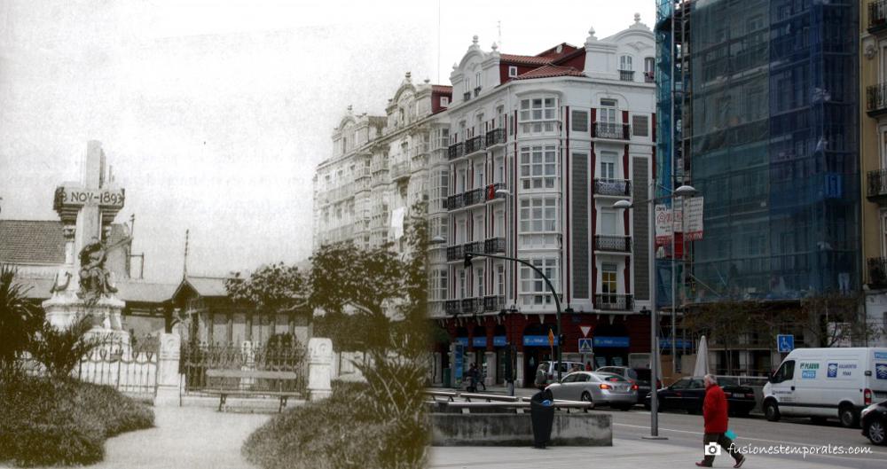 Plaza de las cachavas 1905-2012