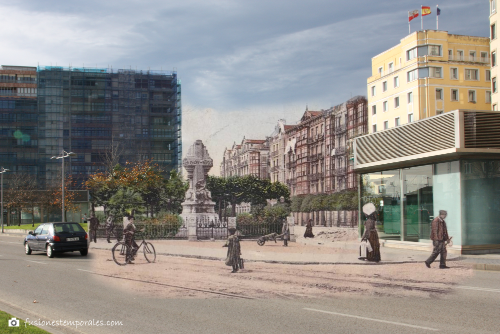 Plaza de las cachavas ca. 1903-2012