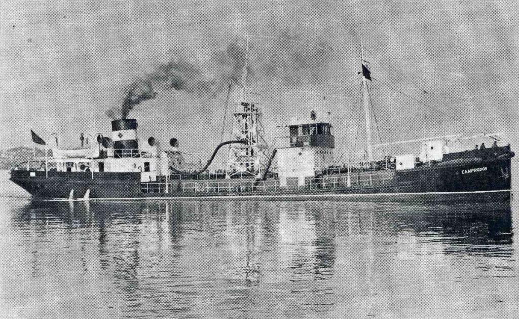 """Camprodón, ca. 1935. Foto del libro """"Astilleros de Santander"""", y publicada aquí."""