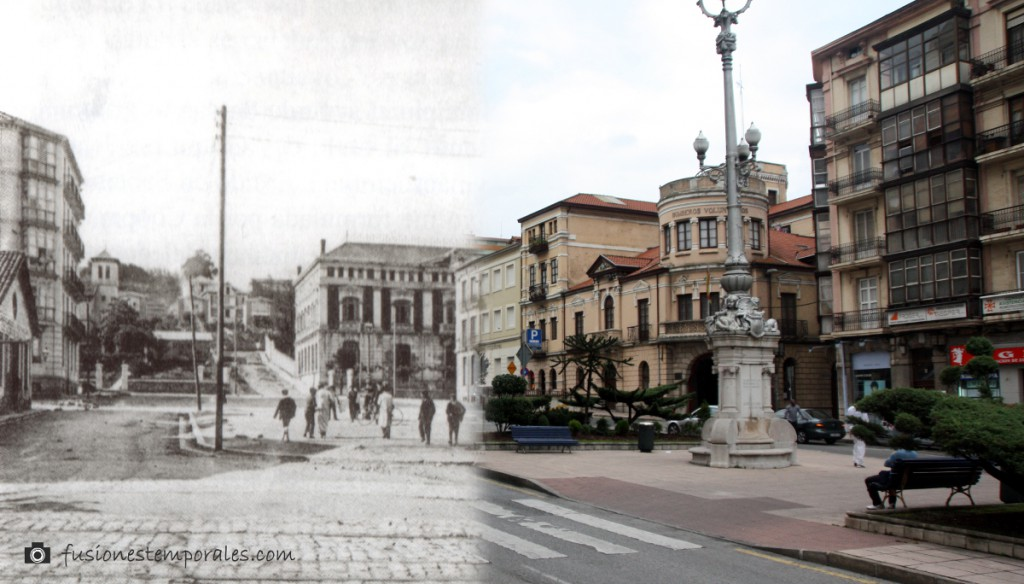 Plaza de Numacia. Ca.1900/2012.