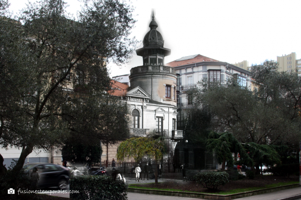 Plaza de Numacia. Ca.1900/2014. Colección Thomàs. CDIS.
