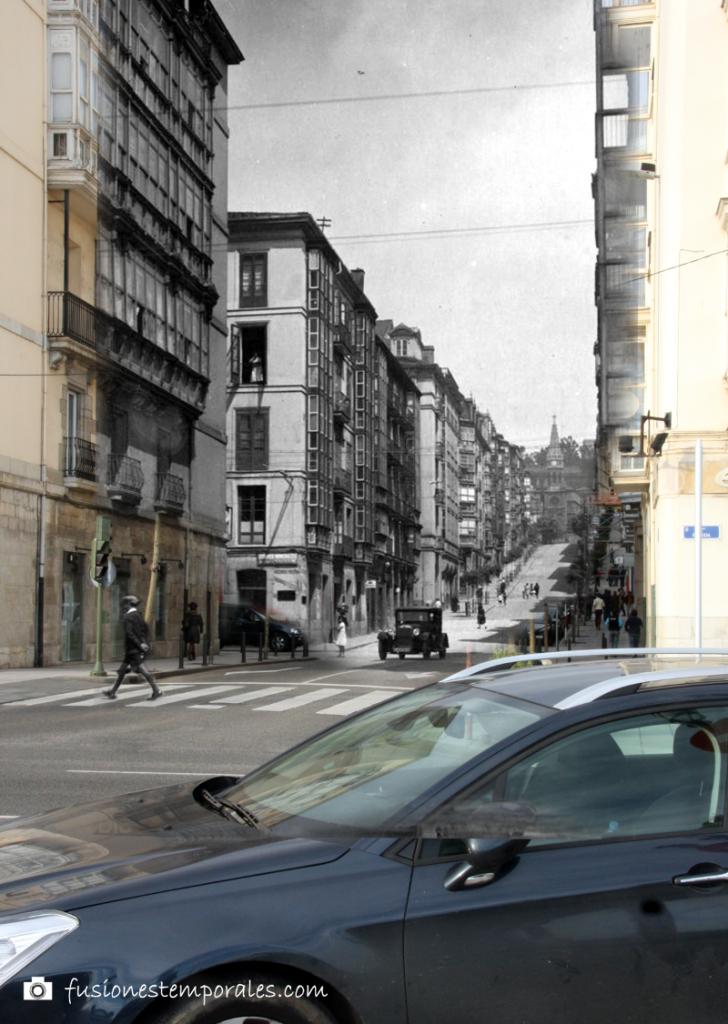 Calle Lope de Vega. 1925/2012. Colección Víctor del Campo Cruz, CDIS.