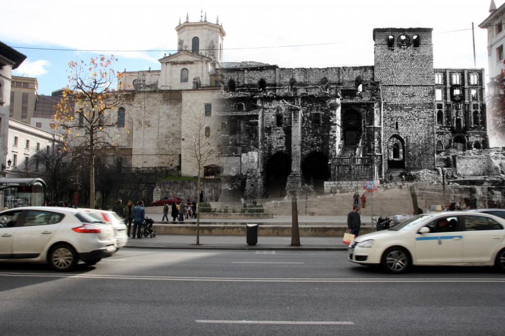 Calle de Calvo Sotelo. 1941-2012. Colección SAMOT.