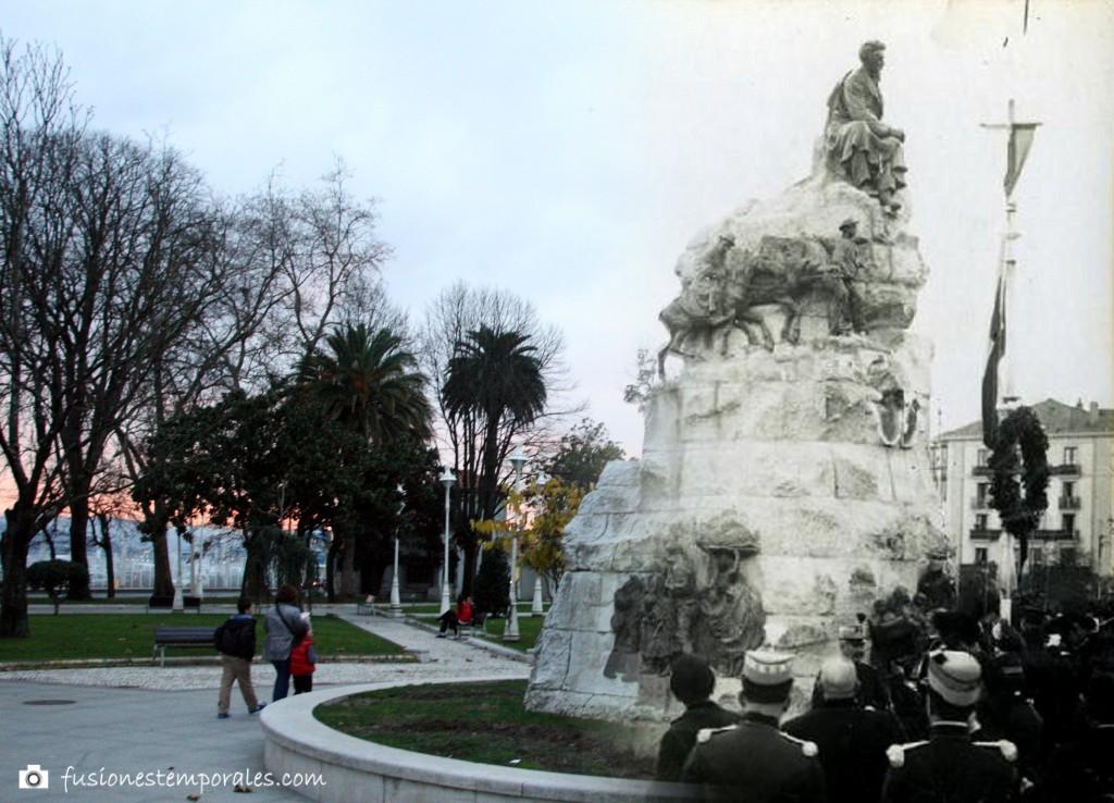 Inauguración del Monumento a Pereda. 1911/2012. Víctor Campor de la Cruz. CDIS.