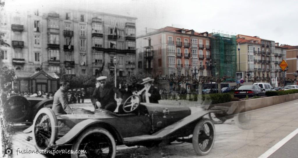 Los reyes en la zona marítima. 1911/2012. Víctor del Campo Cruz, CDIS.