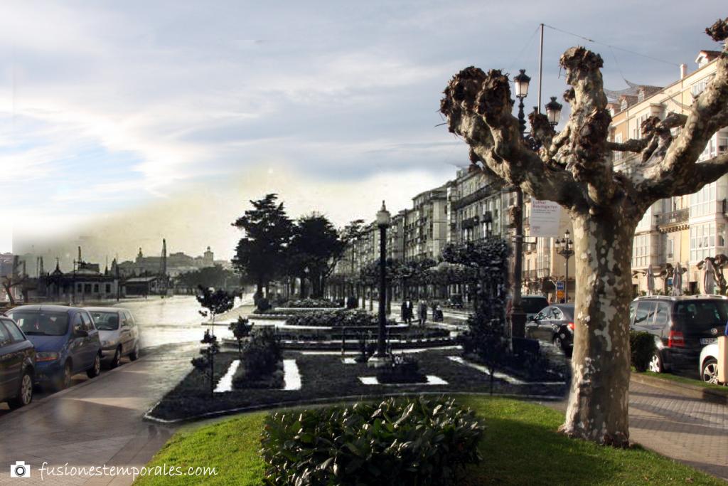 Boulevard de Pereda. Ca. 1934/2012. Lucien Roisin Besnard, CDIS.